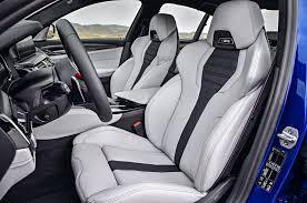 2018 bmw m5 front interior seats 02 motor trend