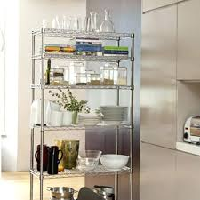 kitchen storage shelves ideas industrial metal kitchen shelves lamdepda info