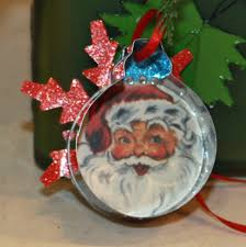 reminisce cookie cutter ornaments featuring dear santa