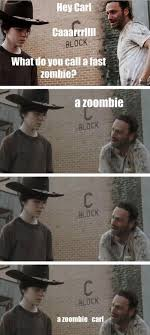 Crying Rick Meme - 31 of the best dad jokes told by walking dead s rick grimes thechive
