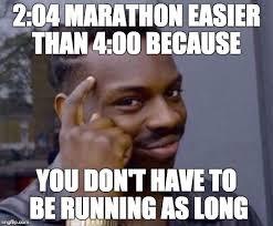 Running Marathon Meme - marathon logic imgflip
