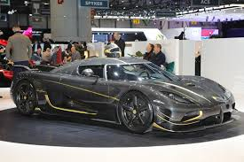 koenigsegg gold koenigsegg reigns in geneva with over 4 000 horsepower in three