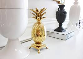 gold pineapple home decor home design and decor some pineapple gold pineapple home decor