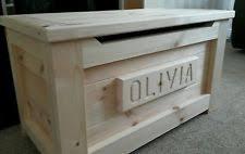 pine ottoman ebay