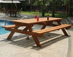 this old house picnic table bench 8 ft picnic table plans how tall is a picnic table bench