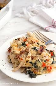 turkey pasta casserole recipe
