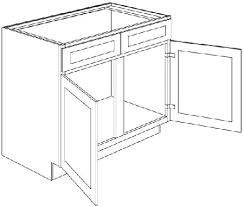 24 inch wide kitchen sink base cabinet sb48 light gray shaker door sink base cabinet 48 wide x 24 x 34 5