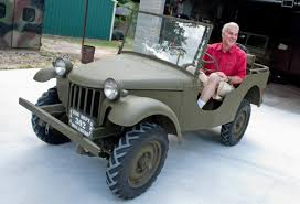 bantam car longview man re creates first bantam jeep a piece at a time