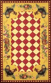 Rooster Runner Rug Rooster Runner Rug Chicken Area Rugs Magnificent Rooster Runner