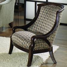 Wooden Frame Armchair Awesome Accent Chair With Wooden Arms On Stunning Barstools And