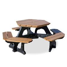 Wooden Hexagon Picnic Table Plans by 20 Best Recycled Plastic Picnic Table Images On Pinterest