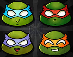draw chibi teenage mutant ninja turtles step step