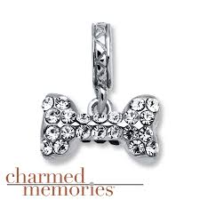 kay jewelers charms kay charmed memories dog bone charm sterling silver