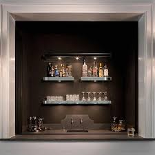 Bar Wall Shelves by Wet Bar Floating Shelves Design Ideas