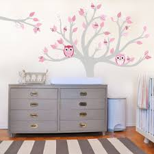 Vinyl Tree Wall Decals For Nursery by Wall Stickers Nursery Home Decorating Interior Design