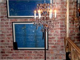 making a chandelier making a chandelier table lamp u2014 best home decor ideas antique