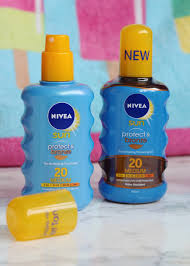 Tanning Oil With Spf Flutter And Sparkle Nivea Sun Protect And Bronze Sun Protection