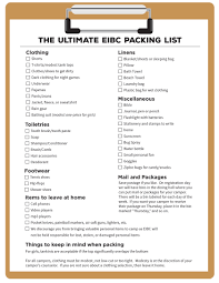 Iowa travel packing list images What to bring east iowa bible camp jpg