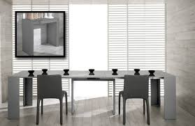 Dining Room Table Extendable by Morph Modern Ultra Compact Extendable Grey Gloss Dining Table