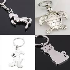 fashion key rings images Fashion creative model dog keychain popular versatile metal key jpg