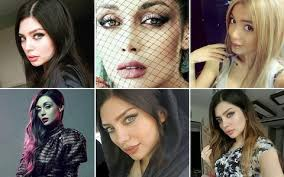iranian women s hair styles iranian models arrested and forced to give public self criticism