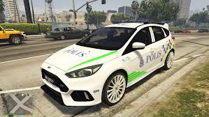 malaysia police pdrm ford focus rs gta5 mods com