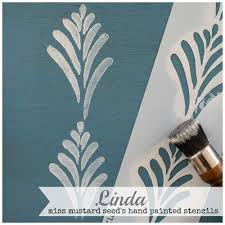 hand painted stencils miss mustard seeds milk paint