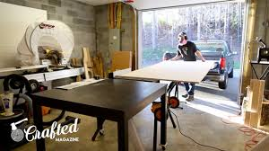building the jay bates miter saw station part 2 video u2014 crafted