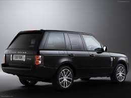 black chrome range rover land rover range rover black edition 2011