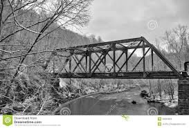 Patapsco State Park Map by Old Train Bridge In Snow Stock Photo Image 49632603