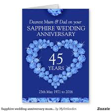 45th wedding anniversary 45th wedding anniversary gift ideas for parents wedding gifts for