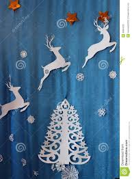 christmas decorations made of paper stock photo image 48664225