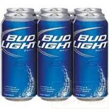how much is a six pack of bud light light 6 pack 16 oz cans
