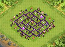 layout design th7 th7 base layouts all time top 1000 clash of clans tools