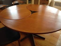 ditzel chairs mid century modern teak dining table and credenza