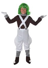 Halloween Costumes Toddler Boys Kids Oompa Loompa Costume