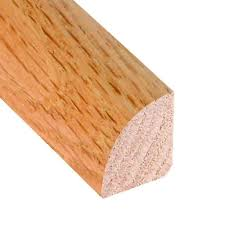 Moulding For Laminate Flooring Millstead Unfinished Oak 3 4 In Thick X 3 4 In Wide X 78 In