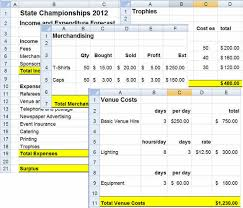 Excel Spreadsheet For Budgeting Budgeting Developing A Budget In Microsoft Excel