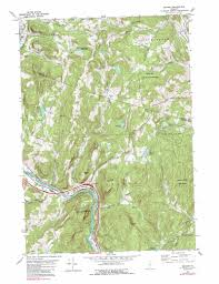 United States Topographic Map by Sharon Topographic Map Vt Usgs Topo Quad 43072g4