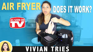 Perfect Toaster As Seen On Tv Air Fryer Review Testing As Seen On Tv Products Vivian Tries