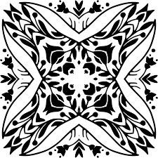 clipart vintage floral ornamental design 9