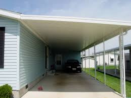 Awning For Mobile Home Mobile Home Carport Posts Wilson Construction Extender Posts