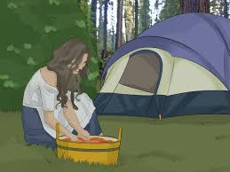 how to live in a tent with pictures wikihow