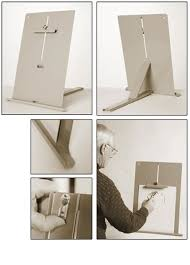 how to make a simple table top easel barnesville easels table top easel
