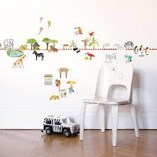 stickers deco chambre garcon sticker et frise mural deco chambre enfant lili s