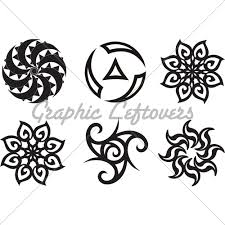 symbolic celtic sun tribal silhouette my of ink