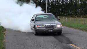 burnout mercury grand marquis youtube