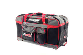 motocross gear packages amazon com factory fmx motorcross gear bag xlarge red automotive