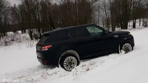 land rover snow snow block of range rover sport youtube