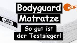 matratzen billig bodyguard matratze so gut ist der testsieger wirklich der zdf